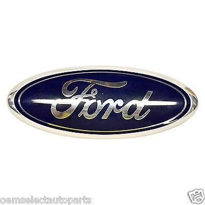 Oem New   Ford Edge Focus Taurus Flex Rear Blue Emblem Atza