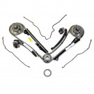 OEM NEW Ford 5.4L Camshaft Phaser Sprocket, Timing Tensioner, Guides, Chain Kit