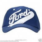 NEW OEM Ford Youth Hat - BLUE w/ Chenile, Built Ford Tough - Children / Kids Cap
