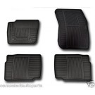 OEM NEW 2014 Ford FUSION All-Weather Vinyl Floor Mats Rubber Catch-All, Black